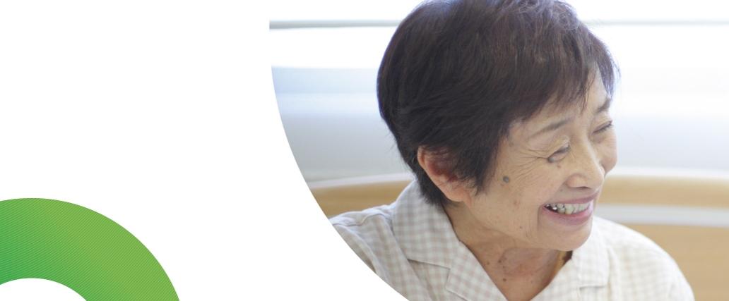 高齢の女性患者