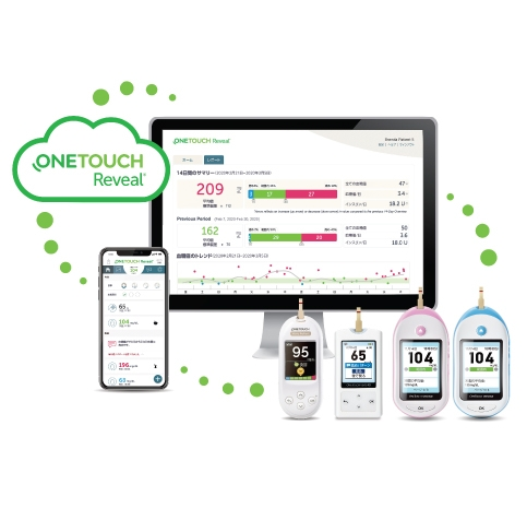OneTouch Reveal®モバイルアプリ/ウェブアプリ